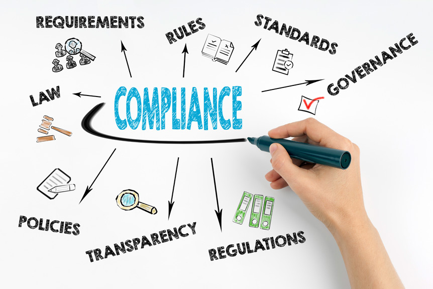 Testing software that analyzes and compares electronic documents and verifies compliance