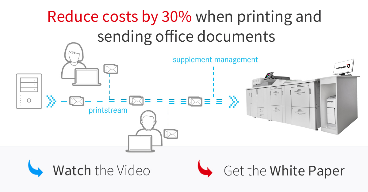 Printing and Sending Office Documents Centrally - Document Processing