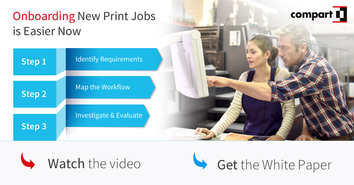 Print Workflow - Onboarding New Print Jobs