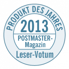 Postmaster Magazin - 2013 Product of the Year